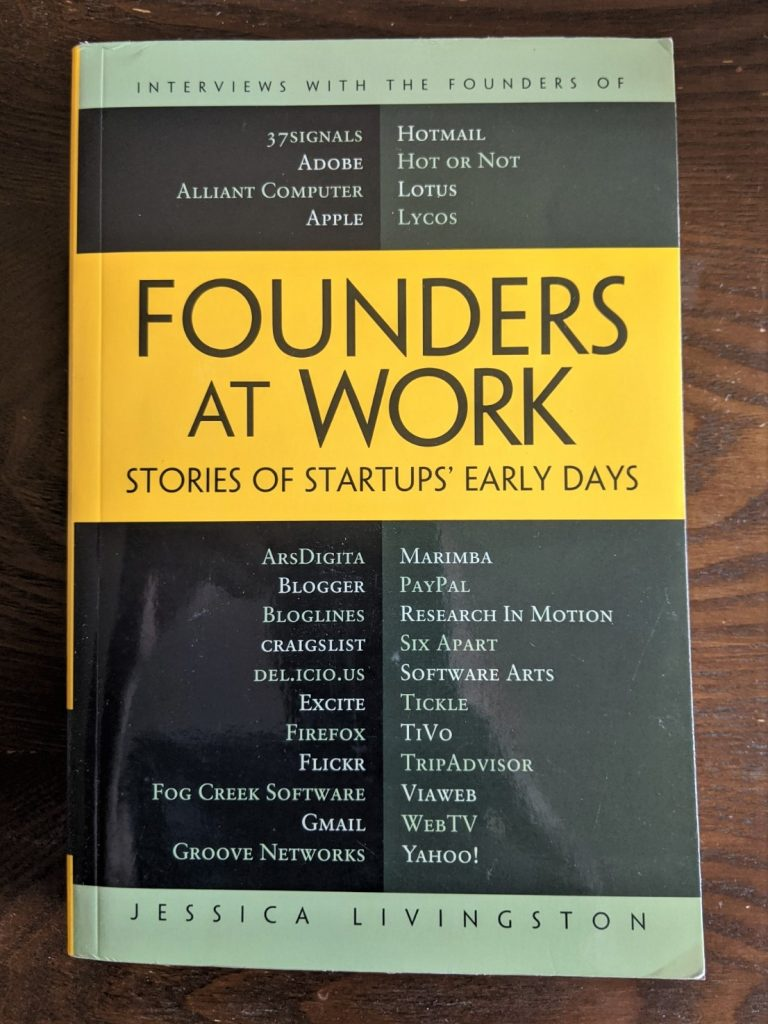 Founders At Work front cover