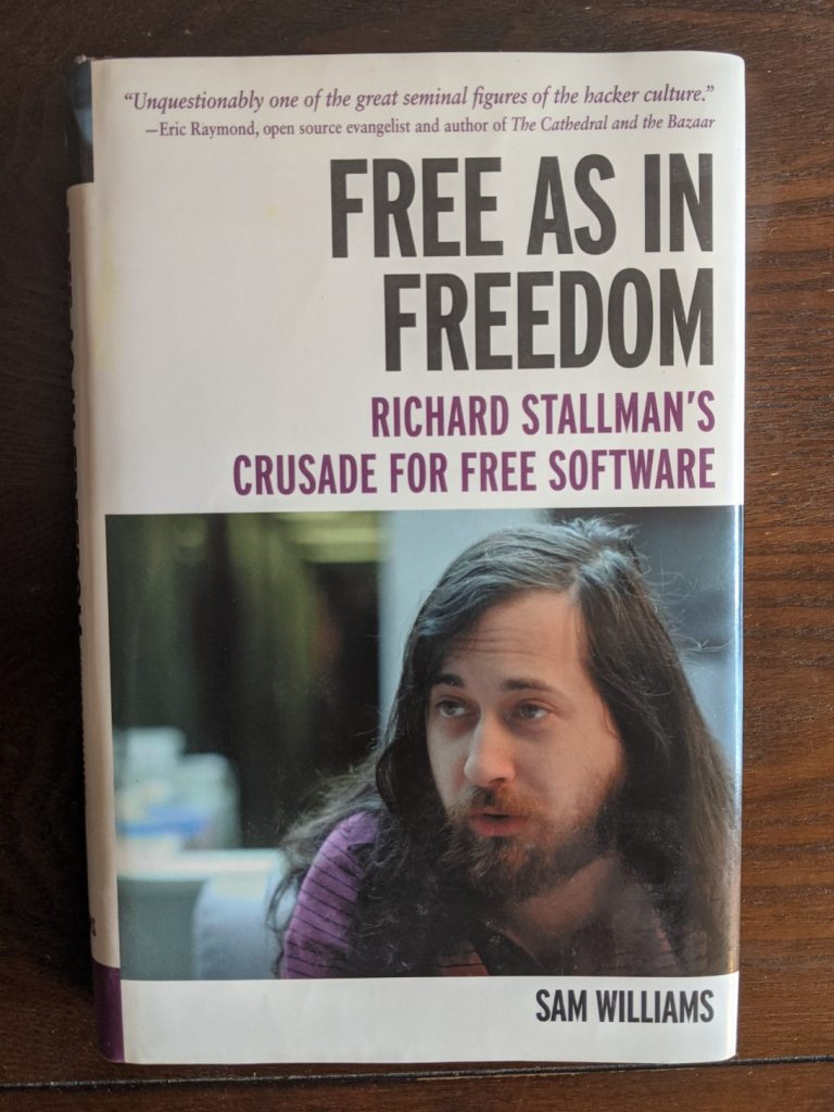 Free as in Freedom book cover